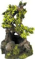 Classic Bonsai on Rocks ornament for biorb fish tanks Aquarium Decoration